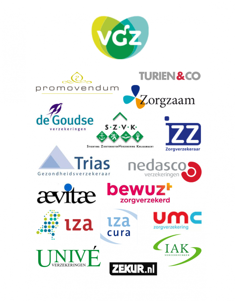Logo's VGZ en labels